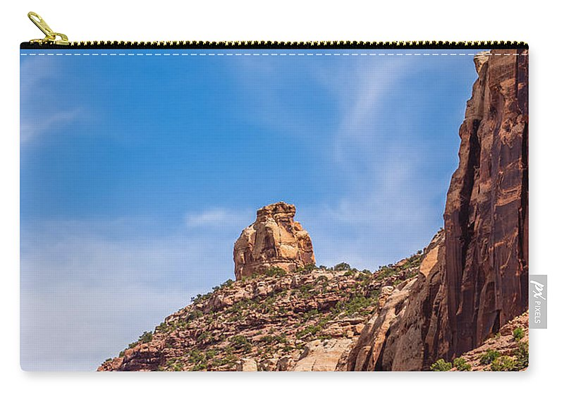 Canyonlands Carry-all Pouch featuring the photograph Views Of Canyonlands National Park by Alex Grichenko