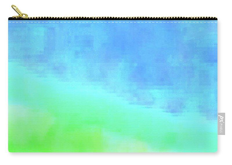 Walter Paul Bebirian Carry-all Pouch featuring the digital art 3-23-2015babcdefghijklmnopqrtuv by Walter Paul Bebirian