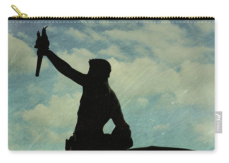 London Carry-all Pouch featuring the photograph Against The Sky by JAMART Photography