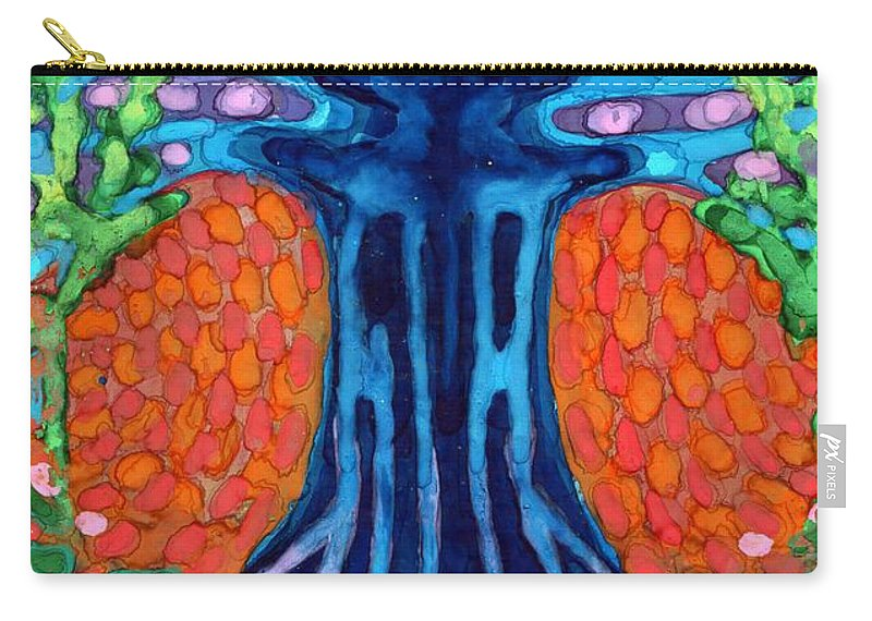 Colour Carry-all Pouch featuring the painting Always Young by Wojtek Kowalski