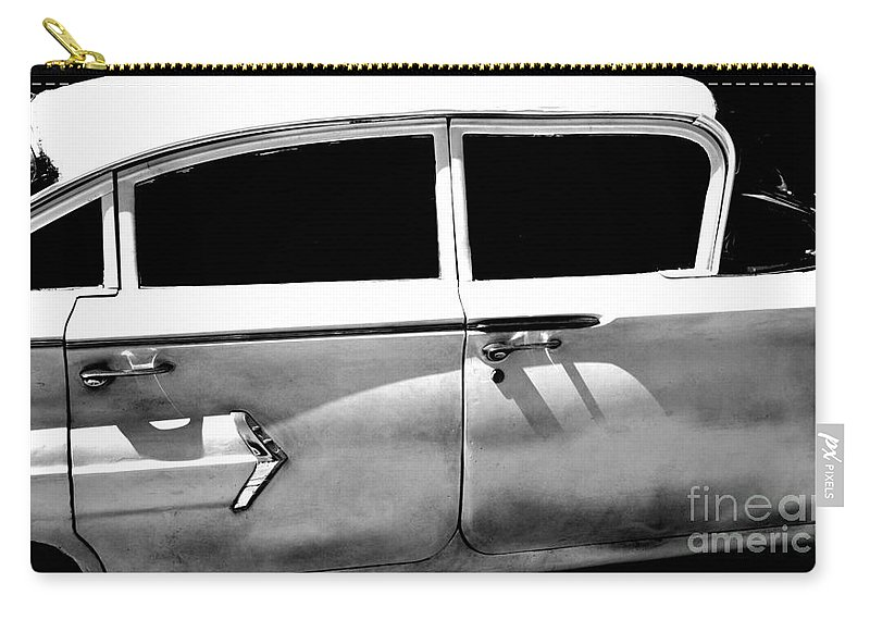 classic Cars Carry-all Pouch featuring the photograph Biscayne by Amanda Barcon