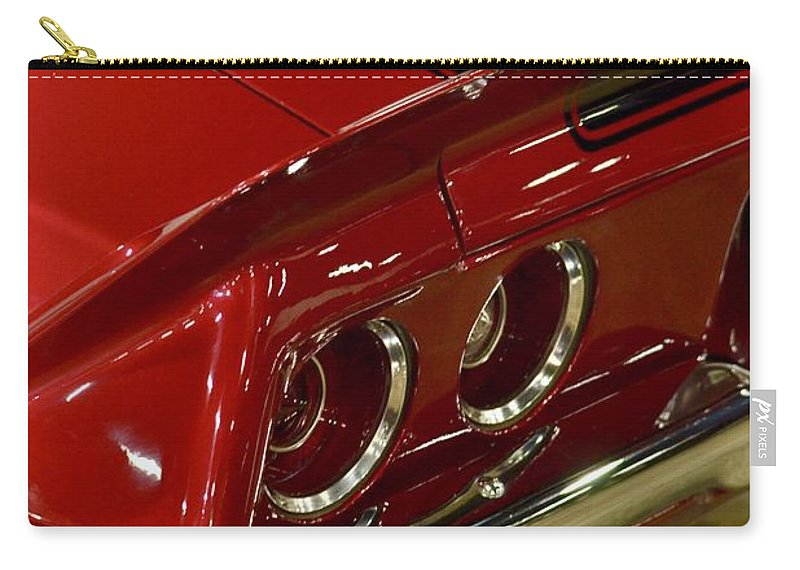 Carry-all Pouch featuring the photograph Camaro Detail by Dean Ferreira
