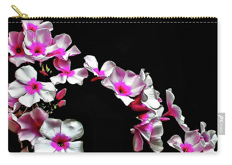 Flowers Carry-all Pouch featuring the photograph Cascade by Steve Harrington