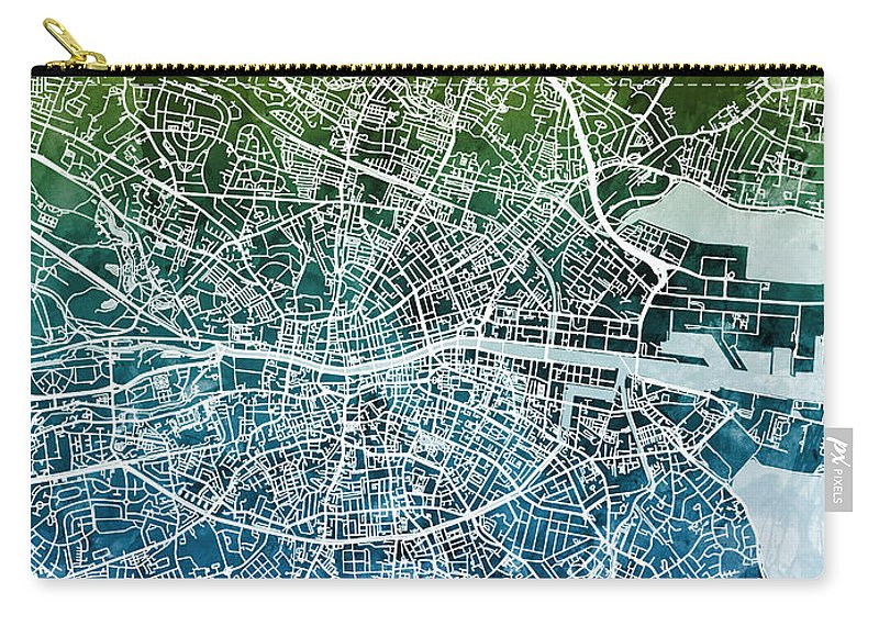 Dublin Ireland City Map Carry-all Pouch on city map of luxembourg, city map of bosnia and herzegovina, city map switzerland, city map of jersey, city map of aruba, city map of southern chile, city map of bahamas, city map of myanmar, city map of libya, city map of kuwait, city map of bahrain, city map of united states of america, city map of latin america, city map of western usa, city map of slovakia, city map of tuscany, city map japan, city map of slovenia, city map of the carolinas, city map of el salvador,
