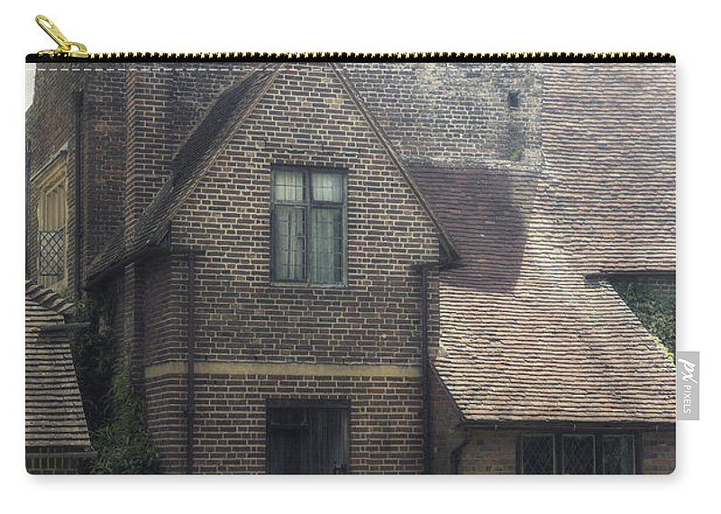 Cottage Carry-all Pouch featuring the photograph English Cottage by Joana Kruse