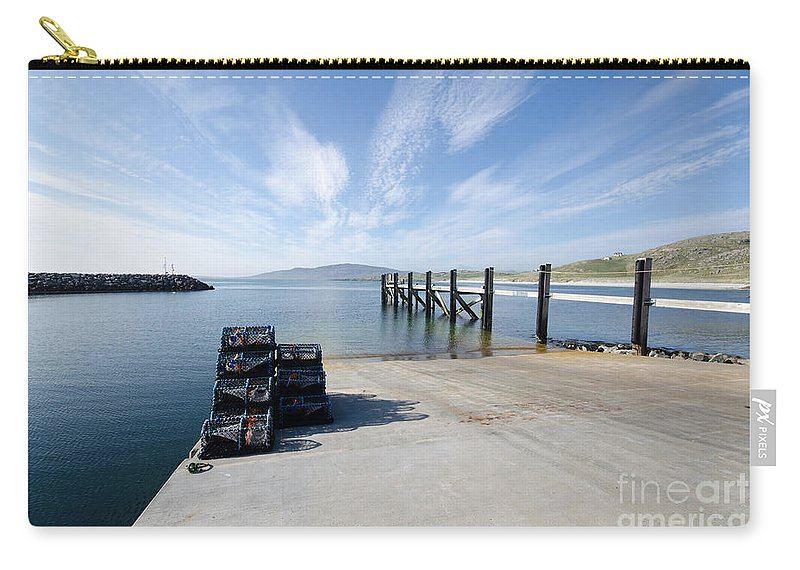 Eriskay Scotland Carry-all Pouch featuring the photograph Eriskay by Smart Aviation