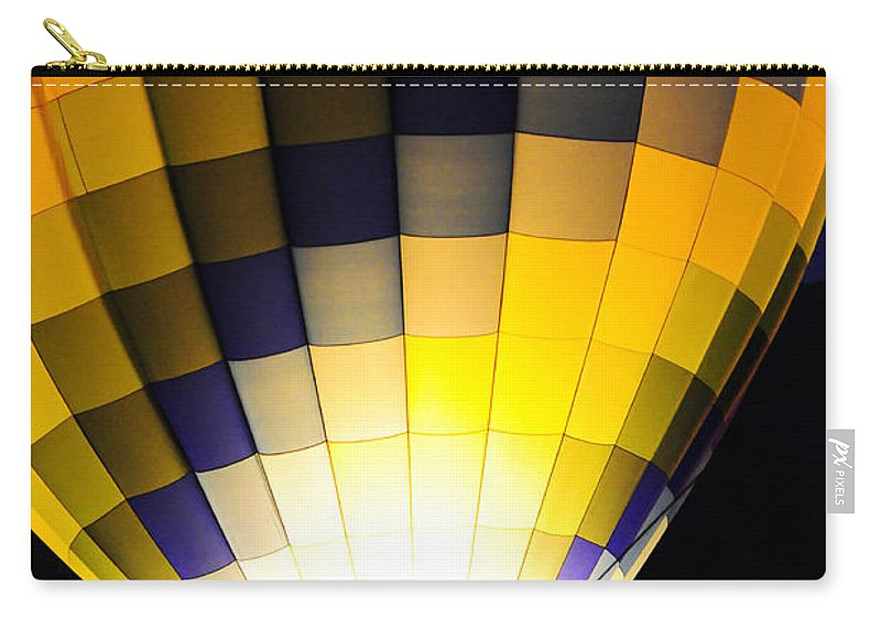 Clay Carry-all Pouch featuring the photograph Glowing by Clayton Bruster
