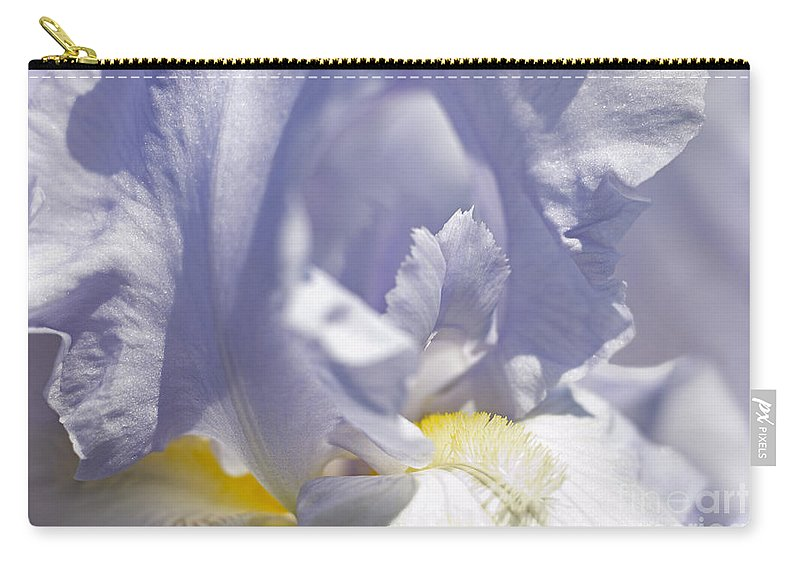 Genus Iris Carry-all Pouch featuring the photograph Iris Flowers by Tony Cordoza