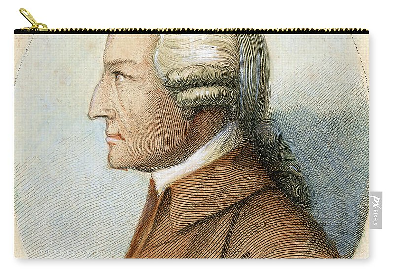 18th Century Carry-all Pouch featuring the drawing John Howard, C1726-1790 by Granger
