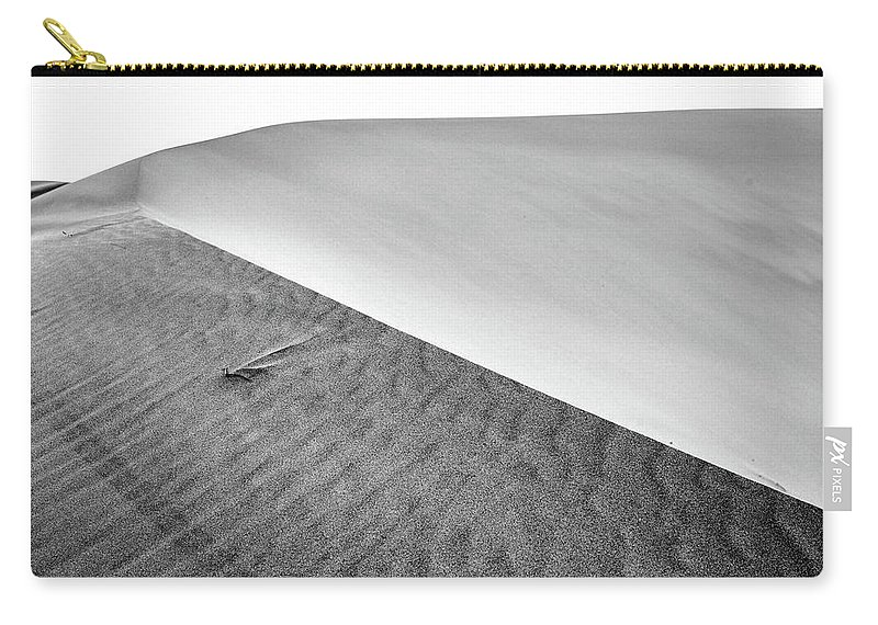 Air Carry-all Pouch featuring the photograph Magnificent Sandy Waves On Dunes At Sunny Day by Oleg Yermolov
