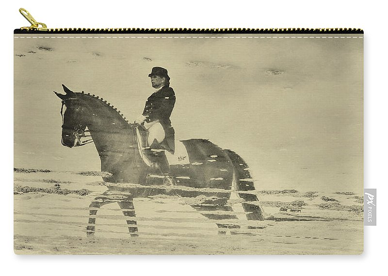 Horse Carry-all Pouch featuring the photograph Mirror Image Reflected by JAMART Photography