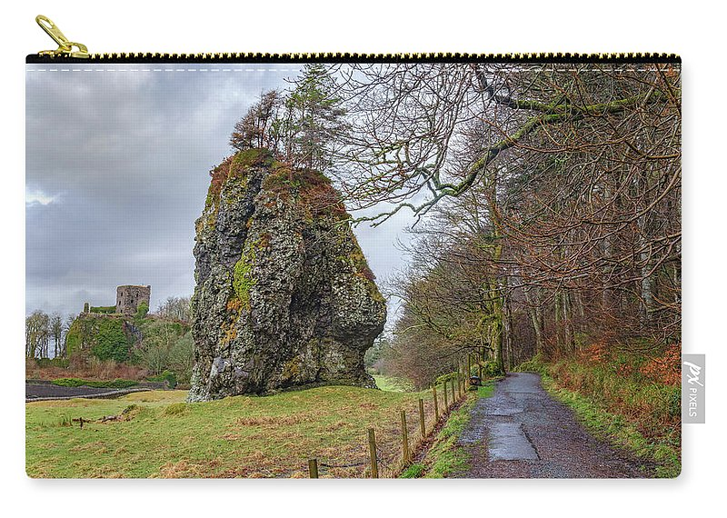 Dunollie Castle Carry-all Pouch featuring the photograph Oban - Scotland by Joana Kruse