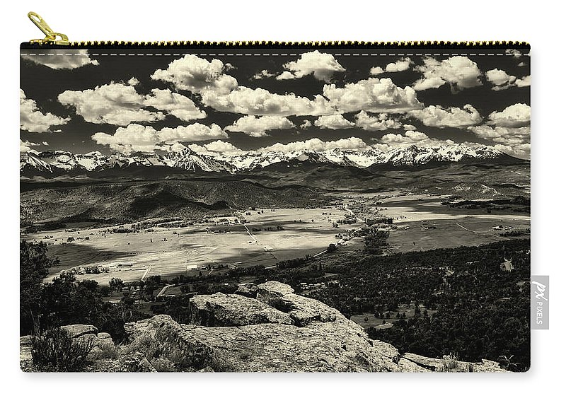 Pleasant Valley Carry-all Pouch featuring the photograph Pleasant Valley Colorado by Mountain Dreams
