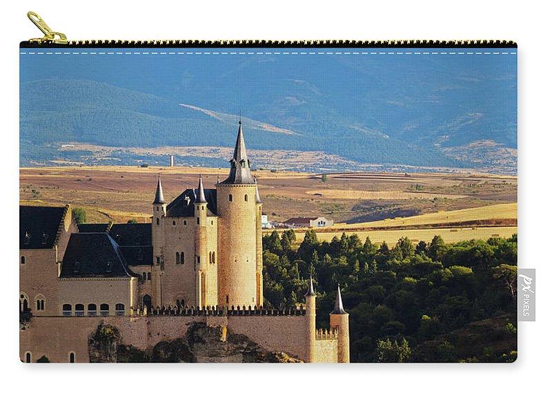 Spain Carry-all Pouch featuring the photograph Segovia, Spain by Karol Kozlowski