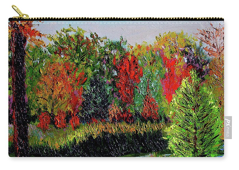 Plein Air Carry-all Pouch featuring the painting Sewp 10 10 by Stan Hamilton