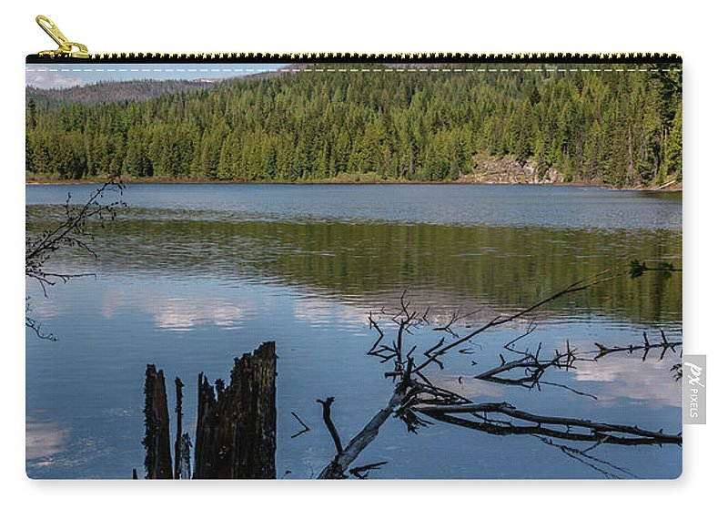 South Skookum Carry-all Pouch featuring the photograph South Skookum Lake by Sam Judy