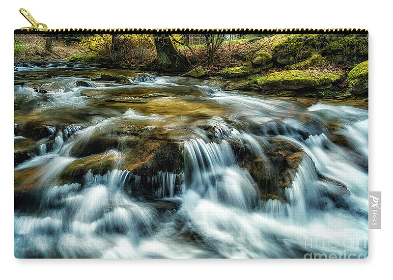 Anthony Creek Carry-all Pouch featuring the photograph Spring Along Anthony Creek by Thomas R Fletcher