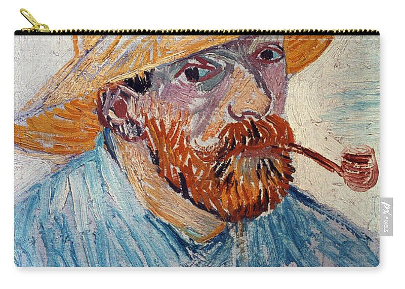 1888 Carry-all Pouch featuring the photograph Vincent Van Gogh by Granger