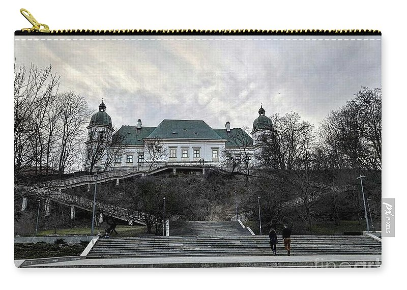 Carry-all Pouch featuring the photograph Warsaw, Poland by Christian Smochko
