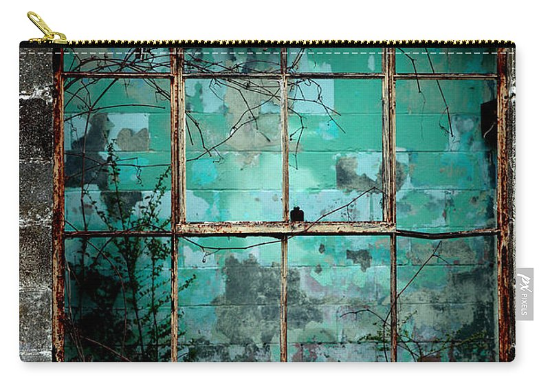Windows Carry-all Pouch featuring the photograph Window by Amanda Barcon
