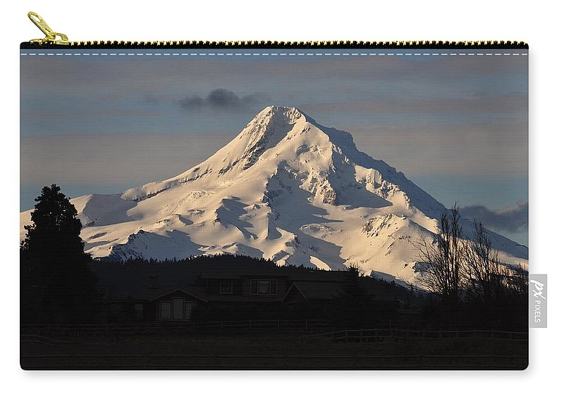 Mountain Carry-all Pouch featuring the photograph Mountain by FL collection