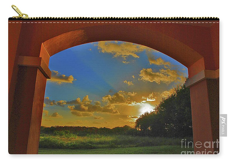 Sunrise Carry-all Pouch featuring the photograph 33- Window To Paradise by Joseph Keane