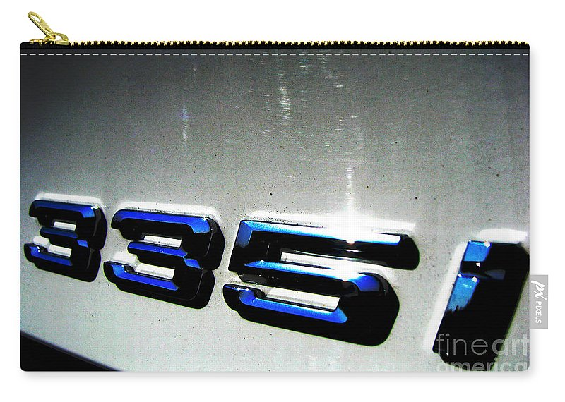 335i Carry-all Pouch featuring the photograph 335i by Amanda Barcon