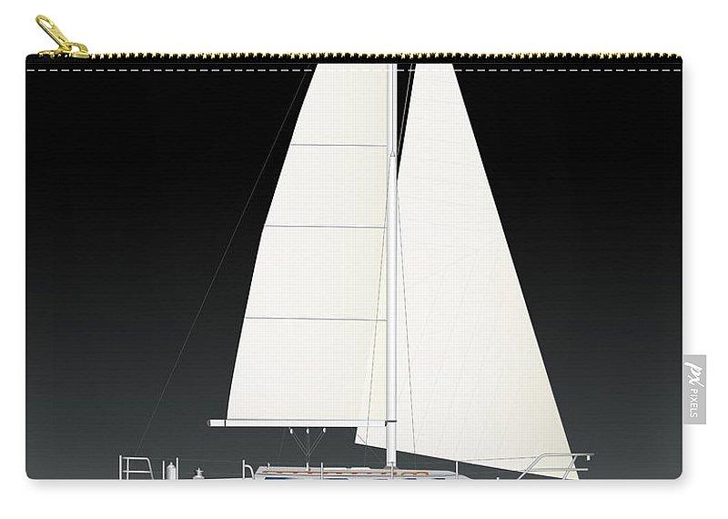 Egina Gallant Sailboats Carry-all Pouch featuring the photograph 33b Gallant Sailing by Regina Marie Gallant