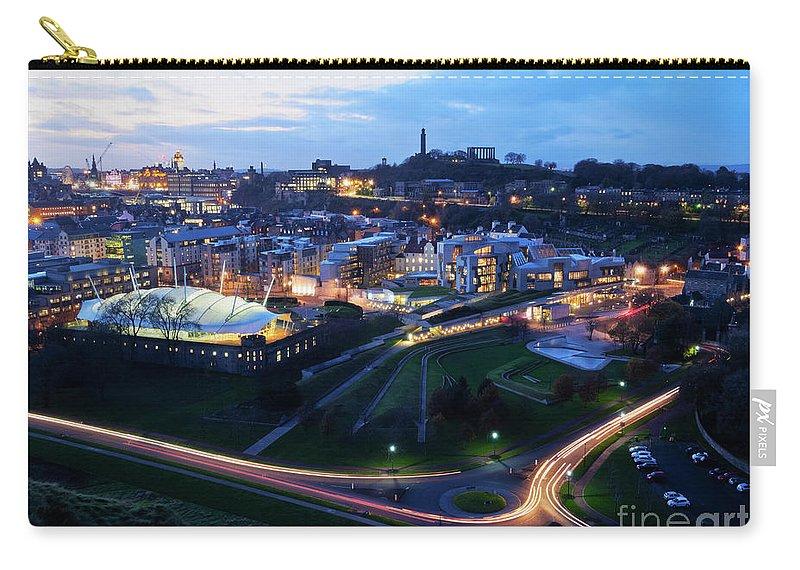 Europe Carry-all Pouch featuring the photograph Edinburgh, Scotland by Karol Kozlowski