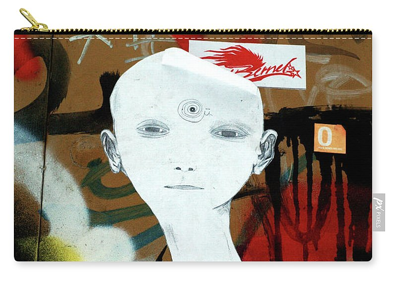Graffitis Carry-all Pouch featuring the photograph 36 by Roger Muntes