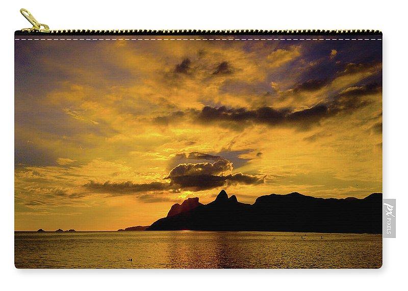 Riodejaneir Carry-all Pouch featuring the photograph Rio de Janeiro by Cesar Vieira