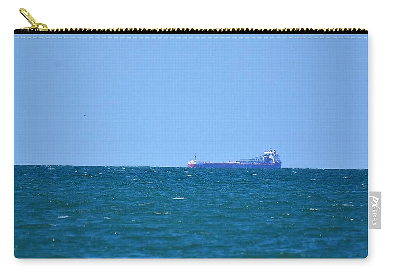 Ship Carry-all Pouch featuring the photograph 3912 by Sergei Dratchev