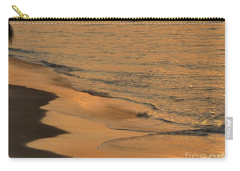 Photography Carry-all Pouch featuring the photograph Golden Sand by Aline Halle-Gilbert