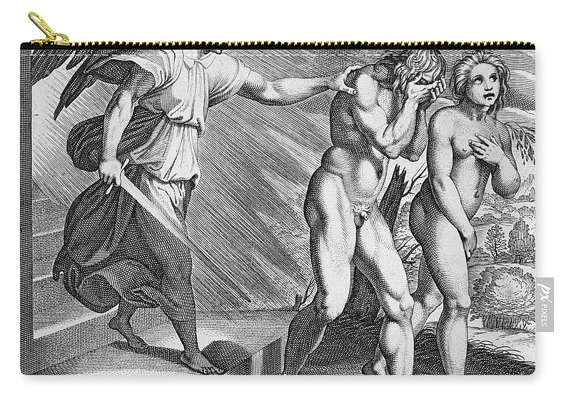 Adam Carry-all Pouch featuring the photograph Adam And Eve by Granger