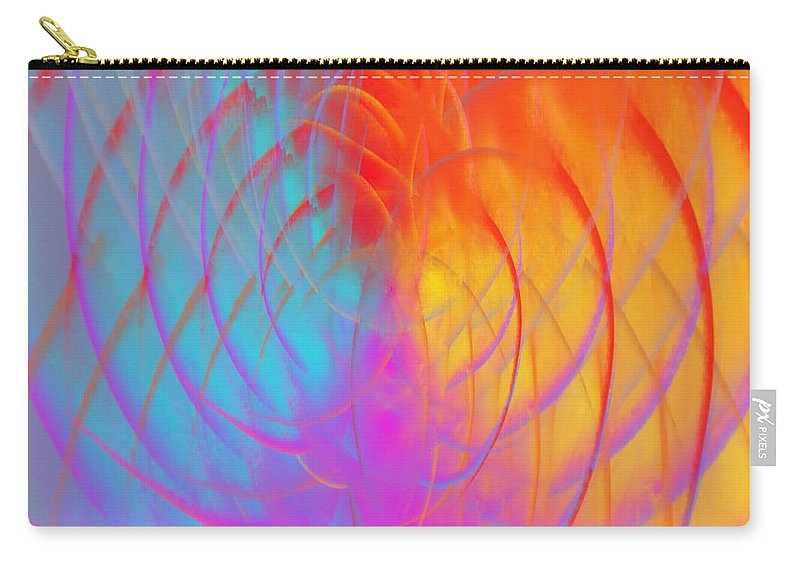 Art Carry-all Pouch featuring the digital art Art No.15 by Abdulaziz Butaiban