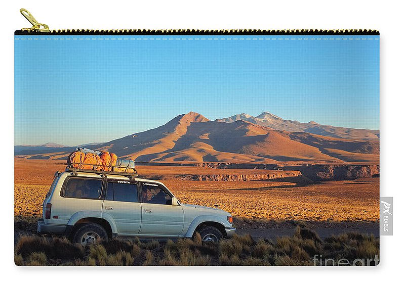 South America Carry-all Pouch featuring the photograph Bolivia by Karol Kozlowski