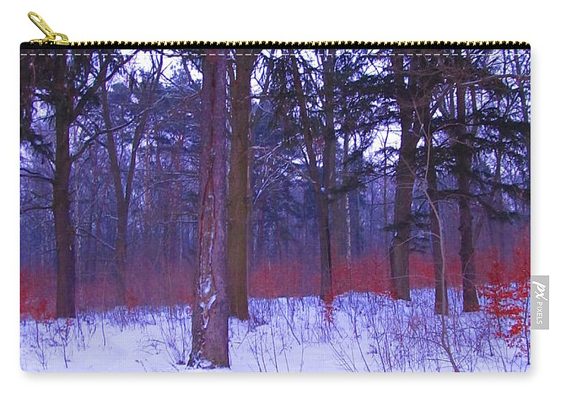 Colour Carry-all Pouch featuring the photograph Forest by Wojtek Kowalski
