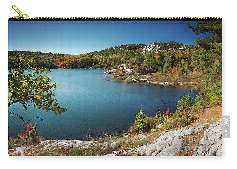 Lake Carry-all Pouch featuring the photograph Killarney Provincial Park In Fall by Oleksiy Maksymenko