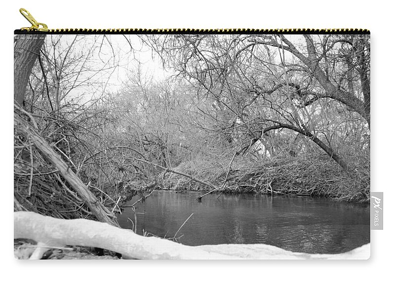 Landscape Carry-all Pouch featuring the photograph Park by Joslyn Hoehn