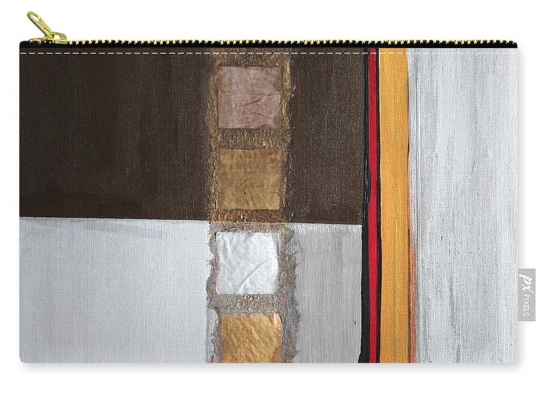 Sets Carry-all Pouch featuring the painting 4 Perplex 2 by Marlene Burns