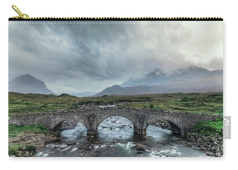 Sligachan Carry-all Pouch featuring the photograph Sligachan - Isle Of Skye by Joana Kruse