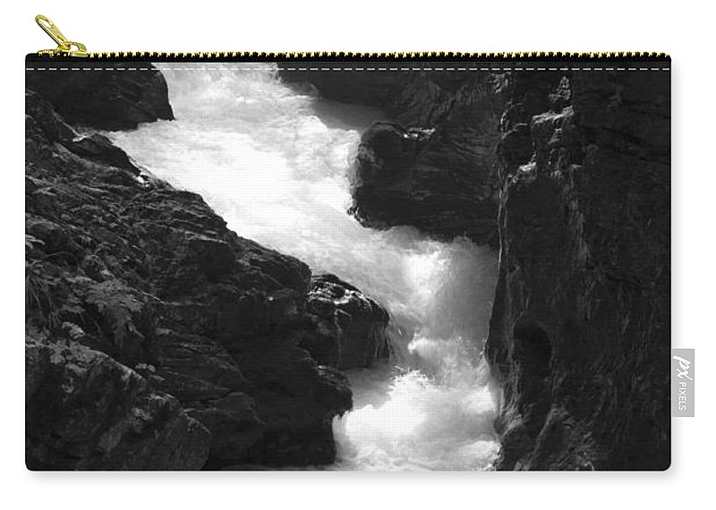 Vintgar Carry-all Pouch featuring the photograph The Vintgar Gorge by Ian Middleton