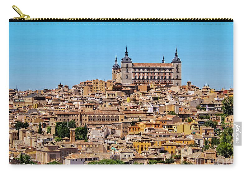 Spain Carry-all Pouch featuring the photograph Toledo, Spain by Karol Kozlowski
