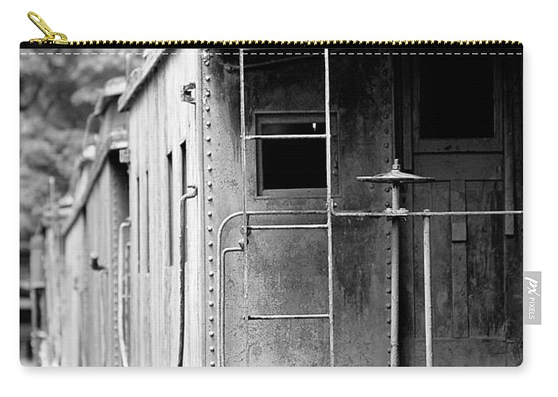 Train Carry-all Pouch featuring the photograph Train by Sebastian Musial