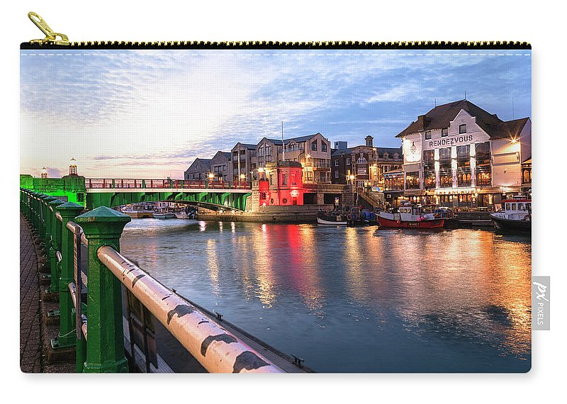 Weymouth Carry-all Pouch featuring the photograph Weymouth - England by Joana Kruse