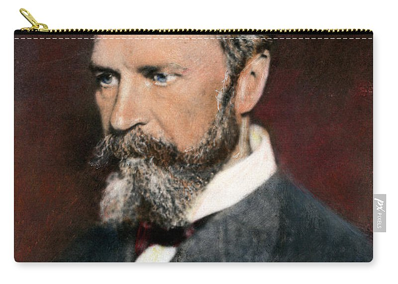 1890s Carry-all Pouch featuring the photograph William James, 1842-1910 by Granger
