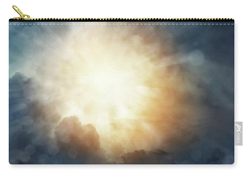 Heavens Carry-all Pouch featuring the photograph Bright Sky by Les Cunliffe