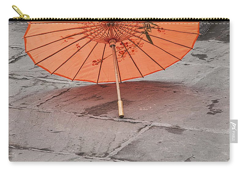 Asia Carry-all Pouch featuring the photograph 4440- Umbrella by David Lange