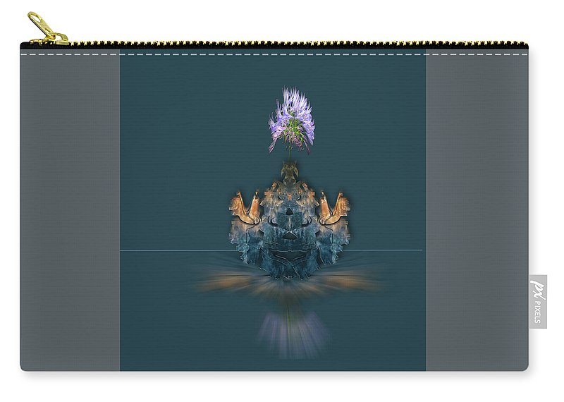 Flowers Carry-all Pouch featuring the photograph 4488 by Peter Holme III