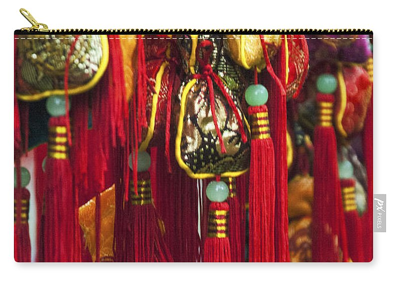 Asia Carry-all Pouch featuring the photograph 4638- Tassels by David Lange